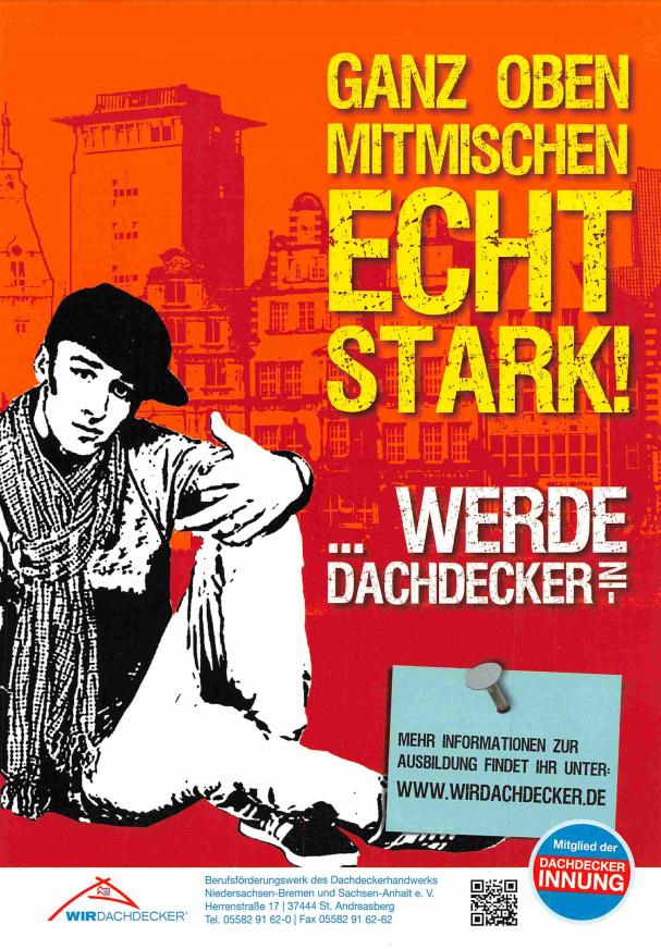 Dachdecker zeichnung  Ausbildung zum Dachdecker - Weniger Bedachungen GmbH